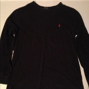 Long Sleeve Ralph Lauren shirt Boys Size Large